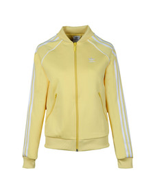 Adidas Originals Womens Beige Superstar Track Top