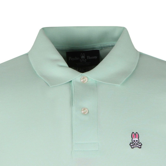 Psycho Bunny Mens Green Classic Polo Shirt main image