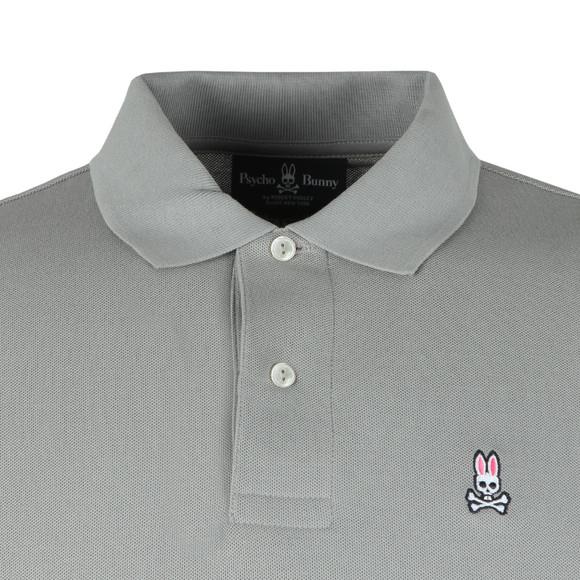 Psycho Bunny Mens Grey Classic Polo Shirt main image