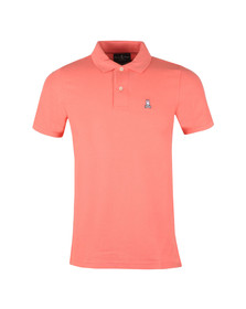 Psycho Bunny Mens Pink Classic Polo Shirt
