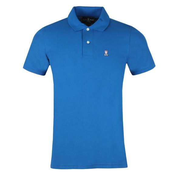Psycho Bunny Mens Blue Classic Polo Shirt main image