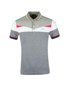 Boss Mens Blue Paddy 6 Polo Shirt