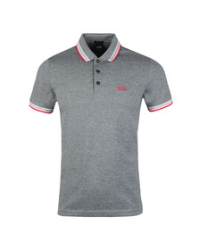 Boss Mens Grey Paddy Polo Shirt
