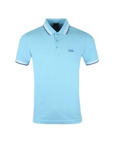 Boss Mens Blue Paddy Polo Shirt