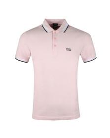 Boss Mens Pink Paddy Polo Shirt