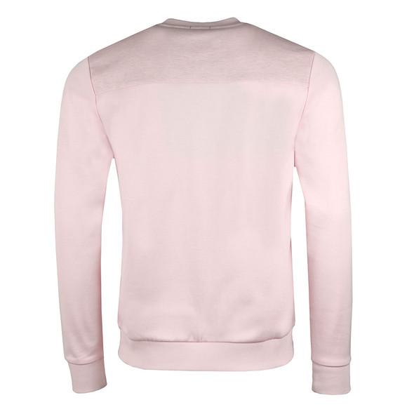 BOSS Green Mens Pink Salbo Crew Sweatshirt main image