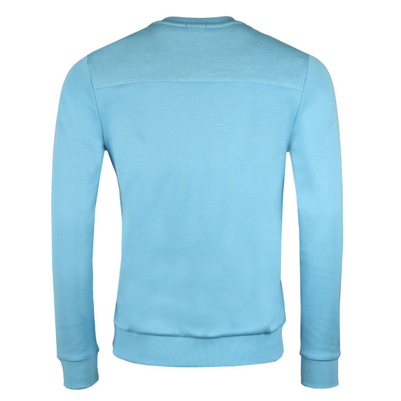 Boss Green Mens Blue Salbo Crew Sweatshirt main image