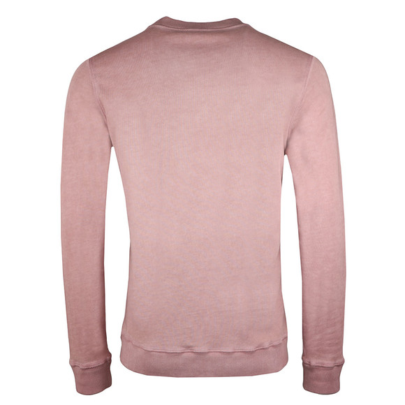 BOSS Mens Pink Casual Wallker Sweatshirt main image