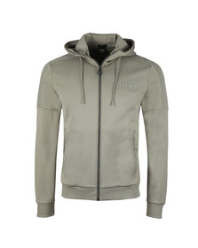 Boss Mens Green Saggy Hoody