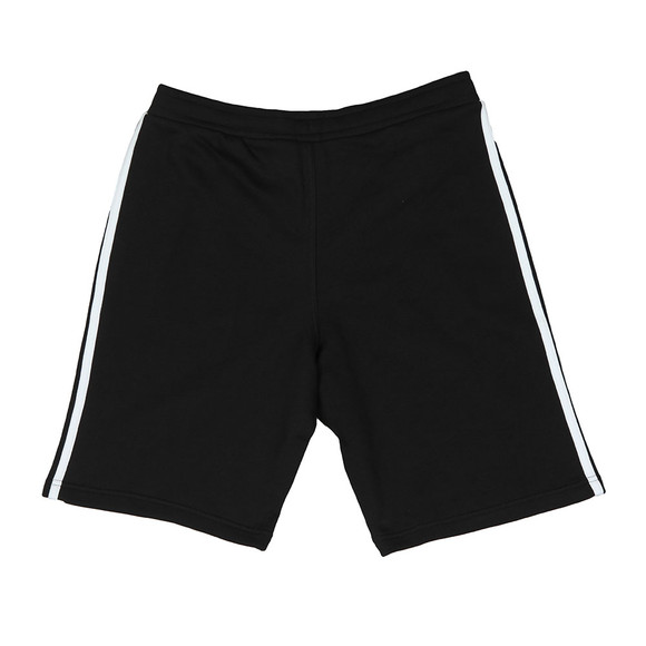 Adidas Originals Mens Black 3 Stripes Sweat Short main image