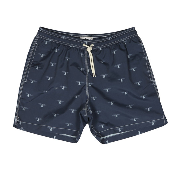 Barbour Lifestyle Mens Blue Beacon Print Swim Short main image