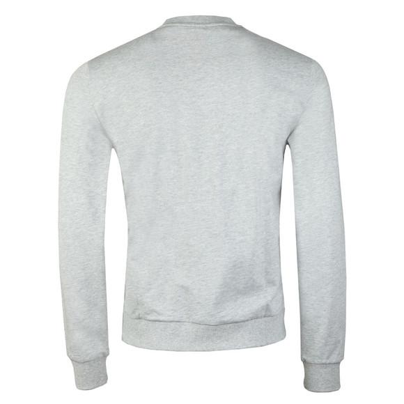 EA7 Emporio Armani Mens Grey 7 Lines Crew Sweatshirt main image