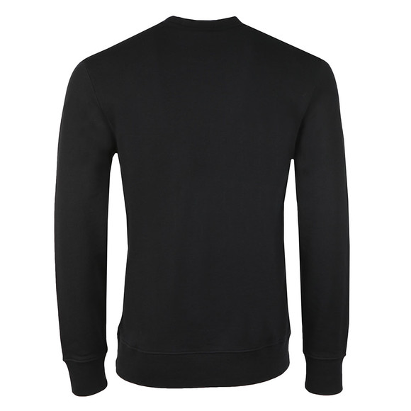 J.Lindeberg Mens Black Throw Ring Loop Sweat main image