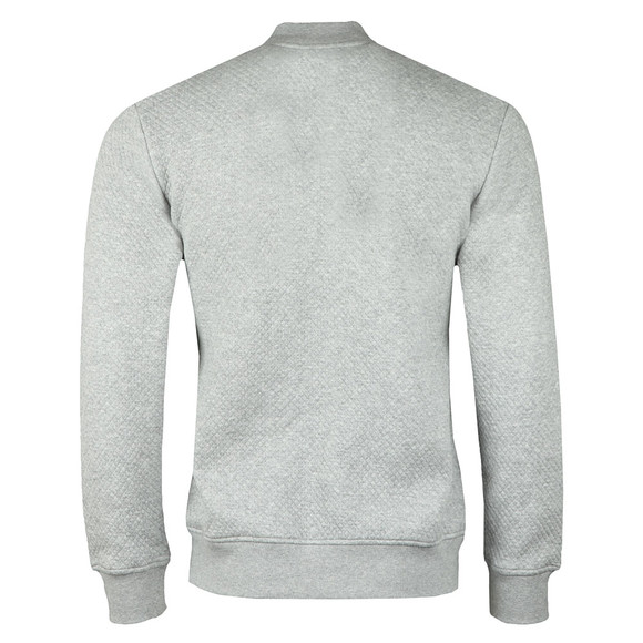 J.Lindeberg Mens Grey Randall Pattern Jacquard Sweat main image