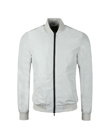 J.Lindeberg Mens Grey Thom 63 Gravity Poly Jacket