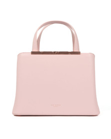 Ted Baker Womens Pink Naomii Smooth Leather Tote Bag