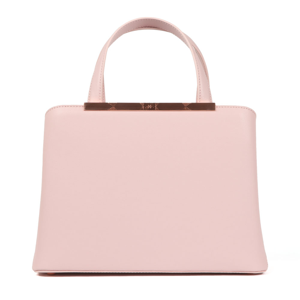 Naomii Smooth Leather Tote Bag main image