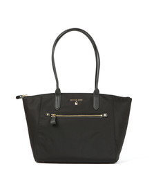 Michael Kors Womens Black Nylon Kelsey Bag