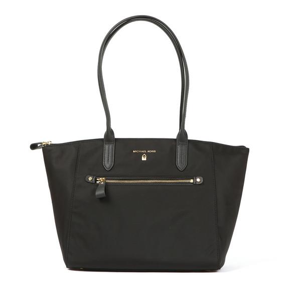 Michael Kors Womens Black Nylon Kelsey Bag main image