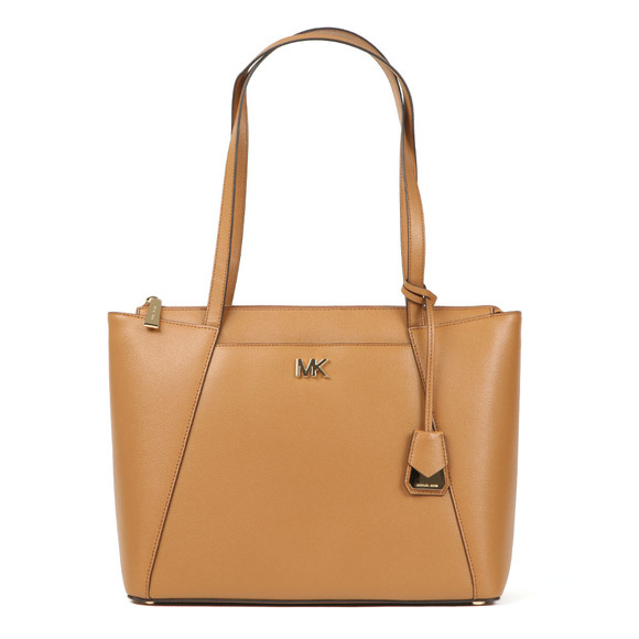 Michael Kors Womens Brown Maddie Mid East West Tote Bag main image