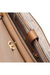 Michael Kors Womens Brown Maddie Mid East West Tote Bag