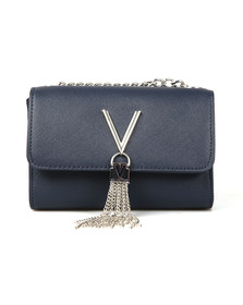 Valentino by Mario Womens Blue Divina SA Small Bag