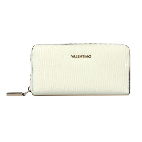Valentino by Mario Womens Off-white Clove Zip Around Purse main image