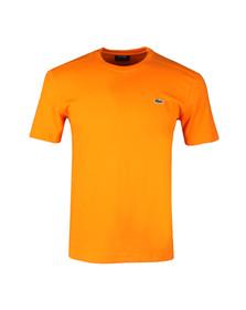 Lacoste Sport Mens Orange TH7618 Plain T-Shirt