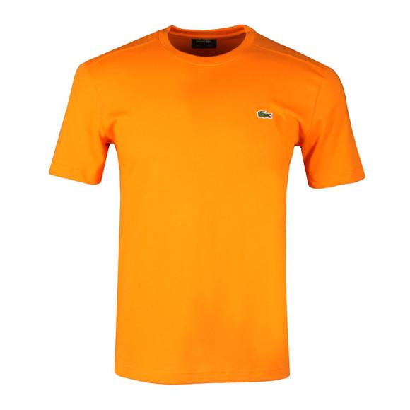 Lacoste Sport Mens Orange TH7618 Plain T-Shirt main image