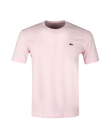 Lacoste Sport Mens Pink TH7618 Plain T-Shirt