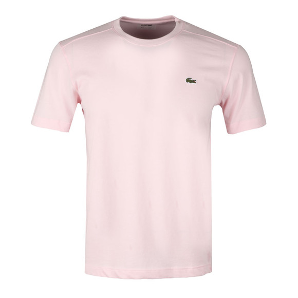 Lacoste Sport Mens Pink TH7618 Plain T-Shirt main image