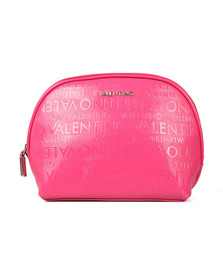 Valentino by Mario Womens Pink Clove Soft Cosmetic Case