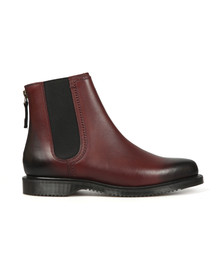 Dr Martens Womens Red Zillow Boot