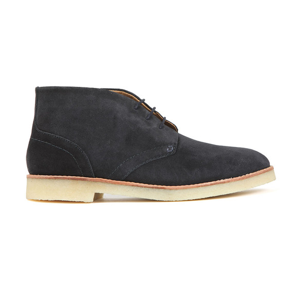 H By Hudson Mens Blue Hatchard Suede Boot main image