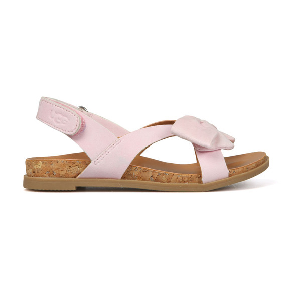 Ugg Girls Pink Fonda Sandal main image