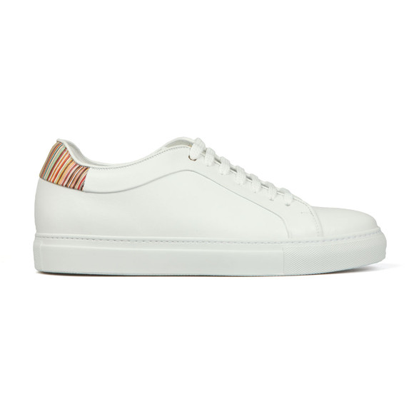 PS Paul Smith Mens White Basso Trainer