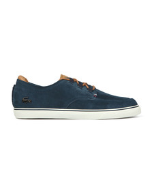 Lacoste Mens Blue Esparre Deck Shoe