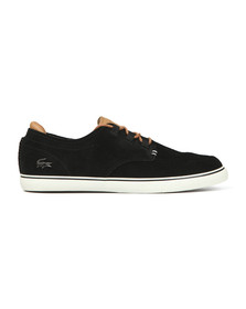 Lacoste Mens Brown Esparre Deck Shoe
