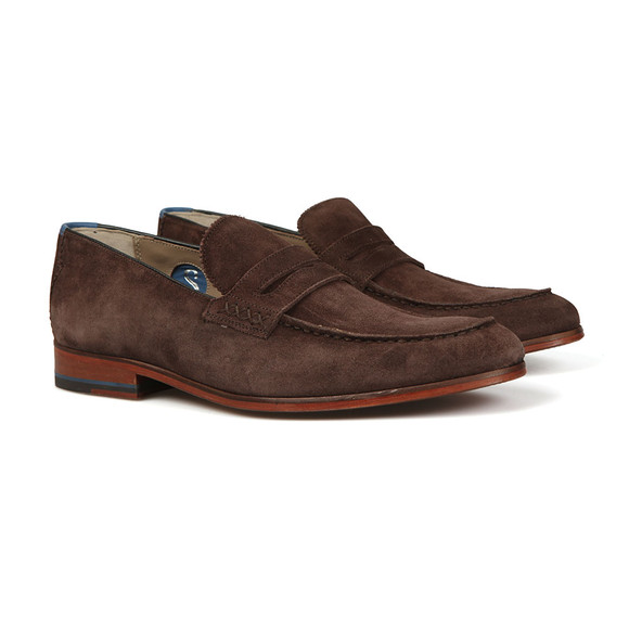 Oliver Sweeney Mens Brown Longbridge  Suede Shoe