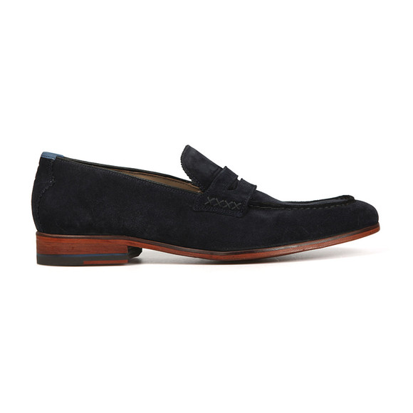 Oliver Sweeney Mens Blue Longbridge  Suede Shoe