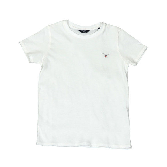 Gant Boys White Boys Original T Shirt main image