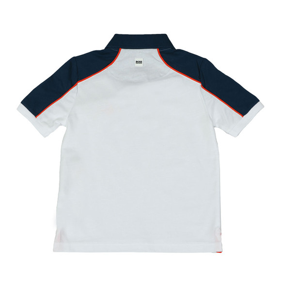 BOSS Bodywear Boys White J28060 Polo & Short Set main image