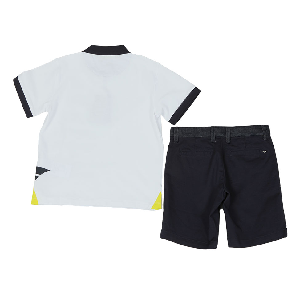 Sail Logo Polo & Short Set main image