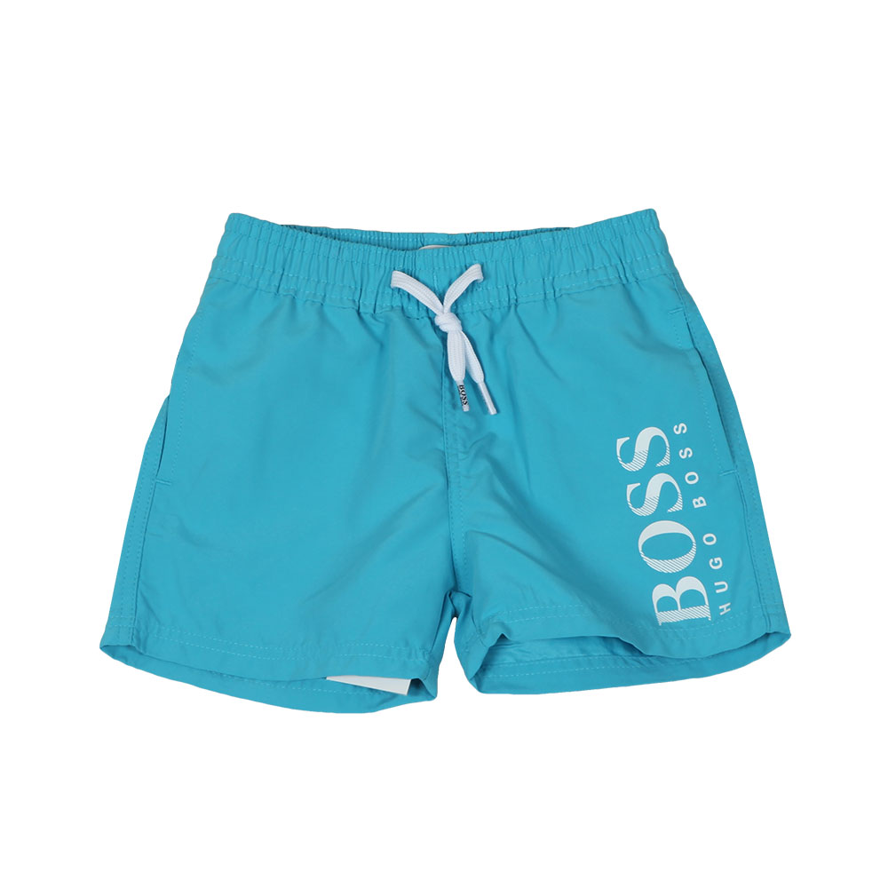 8bd420c07ced1 BOSS Baby J04310 Logo Swim Shorts | Oxygen Clothing