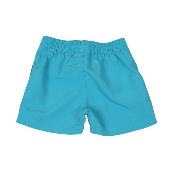 BOSS Loungewear Boys Blue Baby J04310 Logo Swim Shorts main image