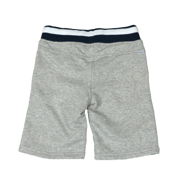 BOSS Bodywear Boys Grey Boys J24552 Logo Jogger Short main image