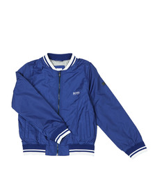 BOSS Boys Blue Boys  J26330 Bomber Jacket