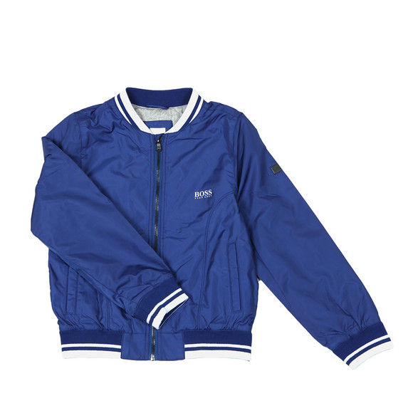 BOSS Bodywear Boys Blue Boys  J26330 Bomber Jacket main image