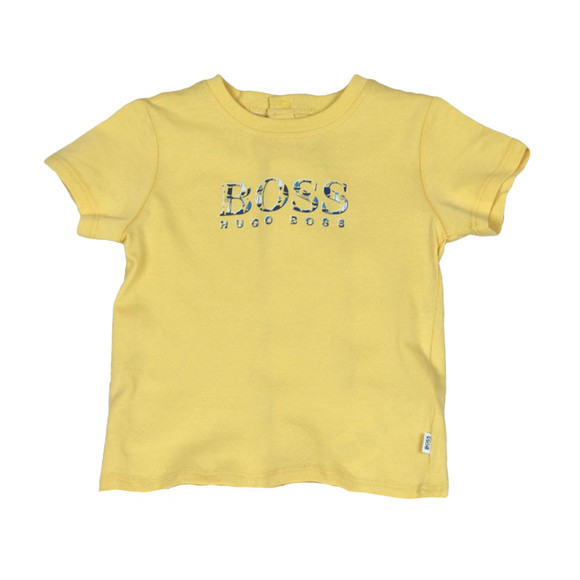 Boss Boys Yellow Baby J95245 All In One main image