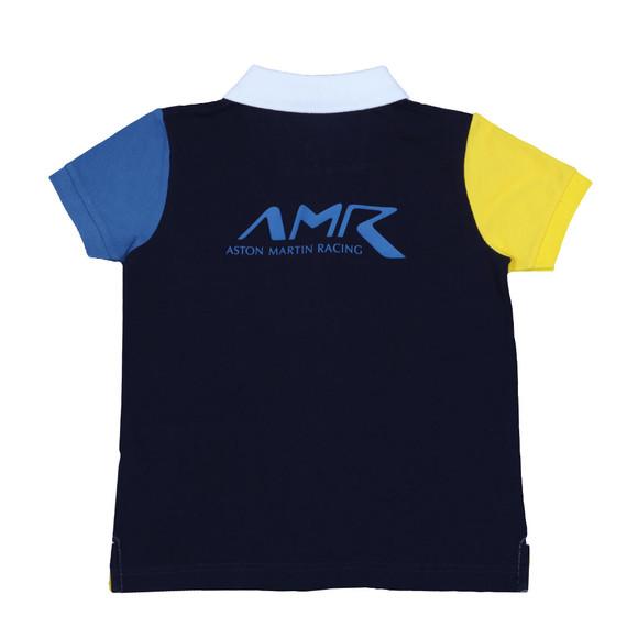 Hackett Boys White Boys AMR Multi Polo Shirt